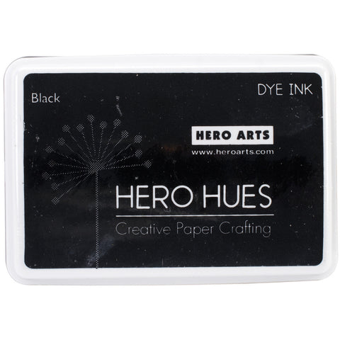 Hero Hues Dye Ink Pad Black