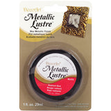 Metallic Lustre Wax Finish Radiant Red