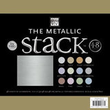 Metallic Stack Solid Cardstock 12inx12in