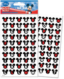 Mickey and Friends Alphabet Dimensional Stickers Ears