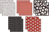 Mickey Mouse Black White Red Paper Pack 12inx12in