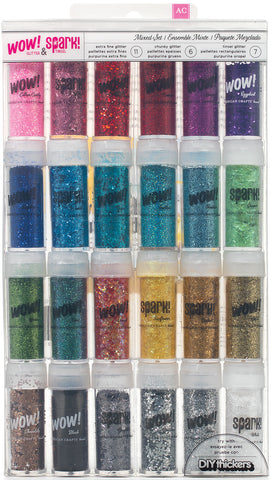 Mixed Glitter and Tinsel Set