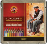 Mondeluz Aquarell Watercolor Pencils 24pk