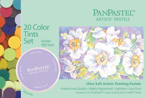 Panpastel Ultra Soft Artist Pastel Set Tints Set