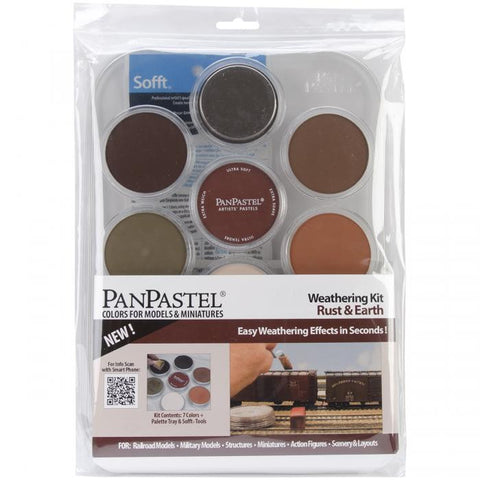PanPastel Ultra Soft Artist Pastel Kit Rust And Earth