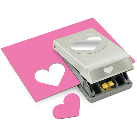 Paper Punch Large Heart