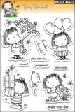 Penny Black Clear Stamps Betsy Bluebell