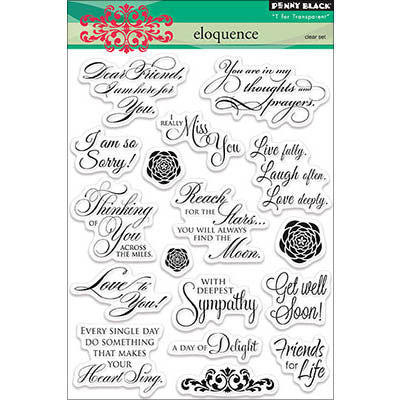 Penny Black Clear Stamps Eloquence