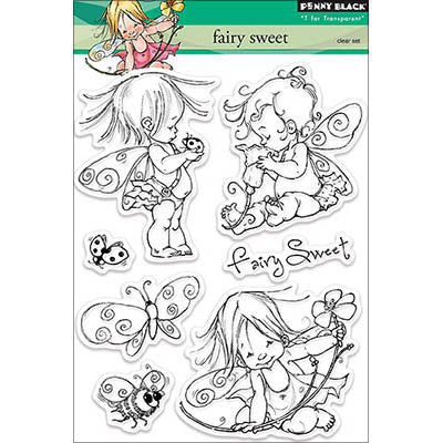 Penny Black Clear Stamps Fairy Sweet