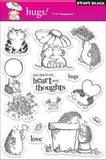 Penny Black Clear Stamps Hugs