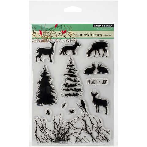 Penny Black Clear Stamps Nature's Friends