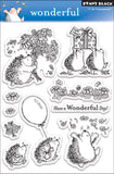 Penny Black Clear Stamps Wonderful