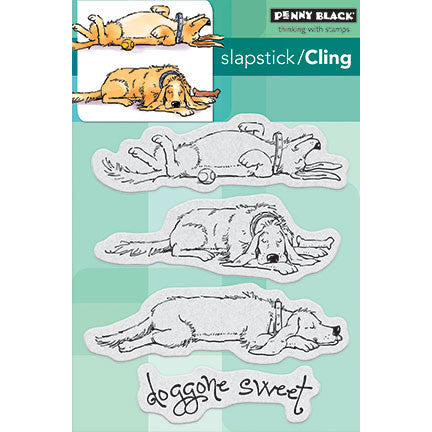 Penny Black Cling Rubber Stamp Doggone Sweet