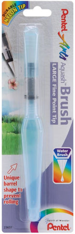 Pentel Aquash Water Brush Fine Point Large