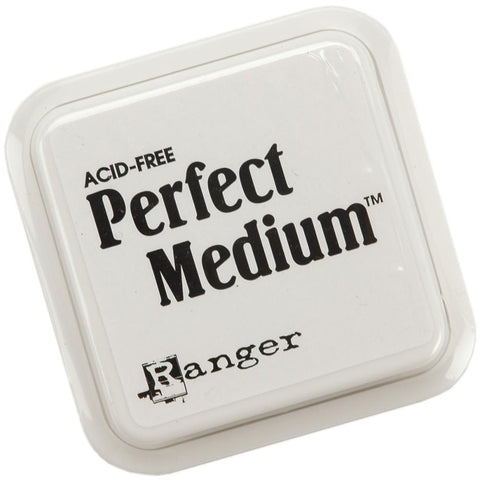 Perfect Medium Stamp Pad 3inx3in Clear