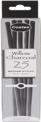 PH Coate Willow Charcoal Medium 56mm