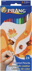 Prang Thick Core Colored Pencil Set - 24/Pkg