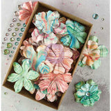 Prima Boxed Flowers Melange with Gems 1.5in to 2.25in