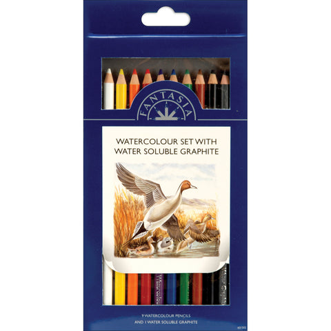 Pro Art Fantasia Watercolor Pencils