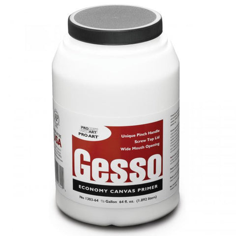 Pro Art Economy White Gesso .5 Gallon
