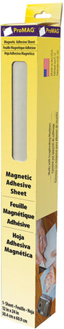 ProMag Adhesive Magnetic Sheet 1ftX2ft