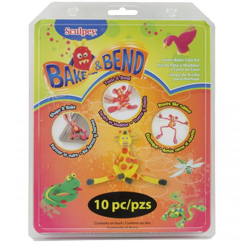 Sculpey Bake And Bend Clay Sets