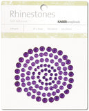 Self-Adhesive Rhinestones Dark Purple