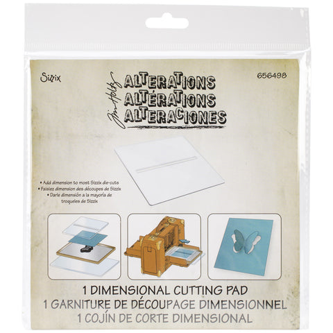 Sizzix Dimensional Cutting Pad By Tim Holtz 6inx6in
