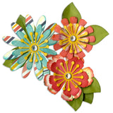 Sizzix Thinlits Dies Mix and Match Flowers