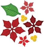 Spellbinders Shapeabilities Dies Layered Poinsetta