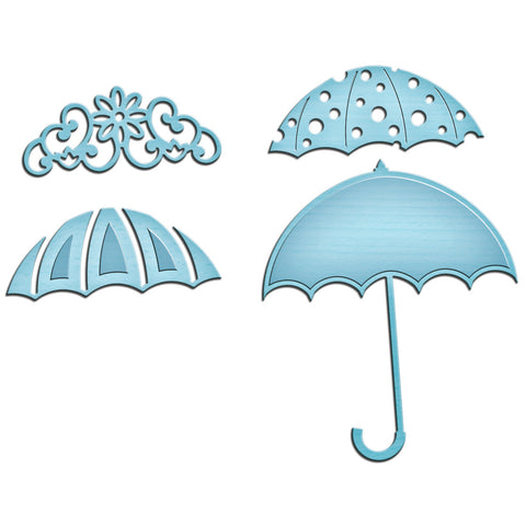 Spellbinders Shapeabilities In'spire Die Umbrella Trio