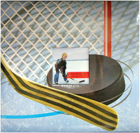 Sport and Hobby Postbound Album Hockey 12inx12in