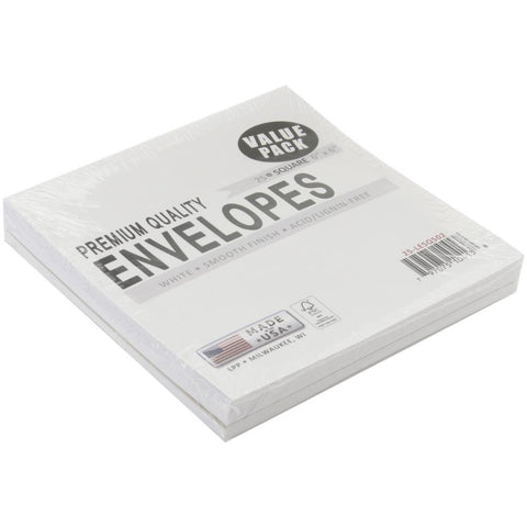 Square Envelopes White 6inx6in