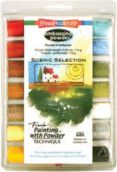 Stampendous Embossing Powder Selection - Scenic/Multi Color