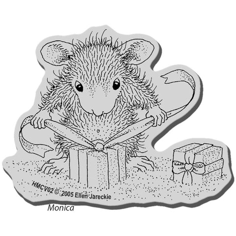 Stampendous House Mouse Cling Stamp Gifts To Tie