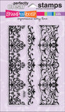 Stampendous Perfectly Clear Stamps Elegant Borders