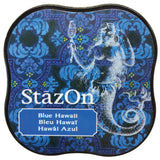Tsukineko StazOn Midi Ink Pad Blue Hawaii