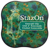 Tsukineko StazOn Midi Ink Pad Emerald City