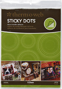 Sticky Dots DieCut Adhesive Large