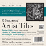 Strathmore Black Artist Tiles 6inx6in