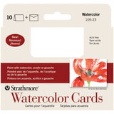 Strathmore Cards and Envelopes Watercolor Cold Press 3.5inx4.875in