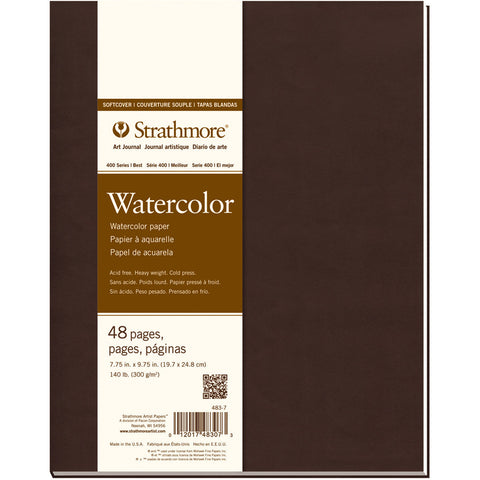Strathmore Softcover Watercolor Journal 7.75inx9.75in