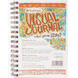 "Strathmore Visual Journal Spiral Bound 5.5""x8"" - 100# Drawing"