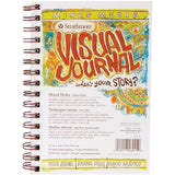 "Strathmore Visual Journal Spiral Bound 5.5""x8"" - Mixed Media Vellum"