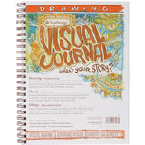 Strathmore Visual Journal Spiral Bound 100# Drawing 9inx12in
