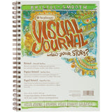 Strathmore Visual Journal Spiral Bound Bristol Smooth 9inx12in