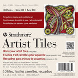Strathmore Watercolor Artist Tiles Cold Press 6inx6in