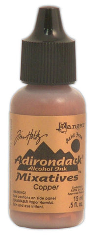 Tim Holtz Adirondack Alcohol Ink Metallic Mixative Copper