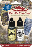 Tim Holtz Adirondack Alcohol Ink Metallic Mixative Gold and Silver