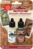 Tim Holtz Adirondack Alcohol Ink Metallic Mixative Pearl and Copper